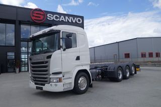 Scania G 450 8x4*4 chassi