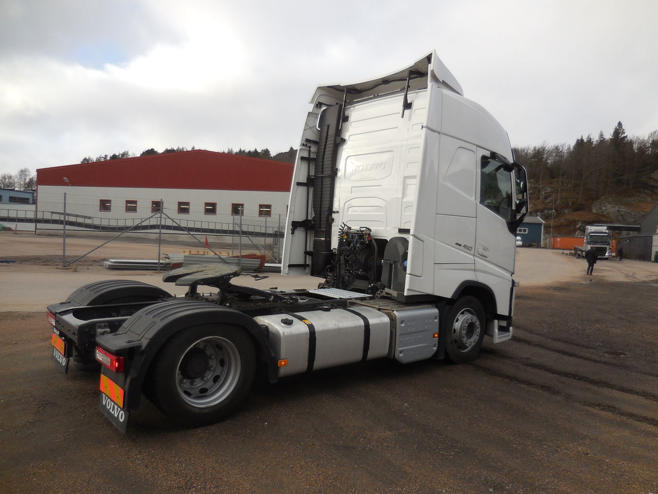 Volvo FH 460 Mega höj och sänkbar skiva 2015 - Dragbil