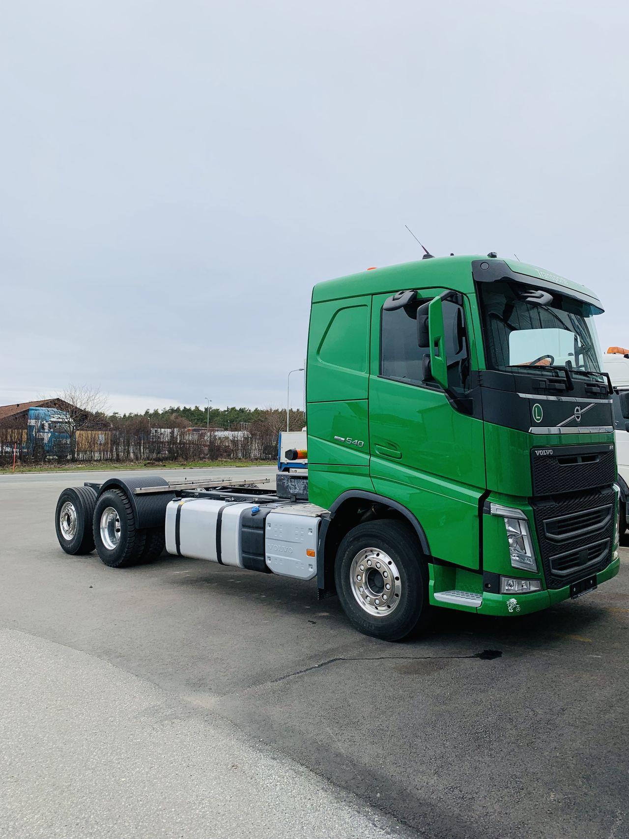 Volvo FH 540 Chassi/Lastväxlare 2016 - Enbart chassi