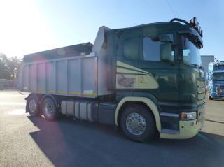 Scania R 490 6x2 Tippbil Benalu EU6