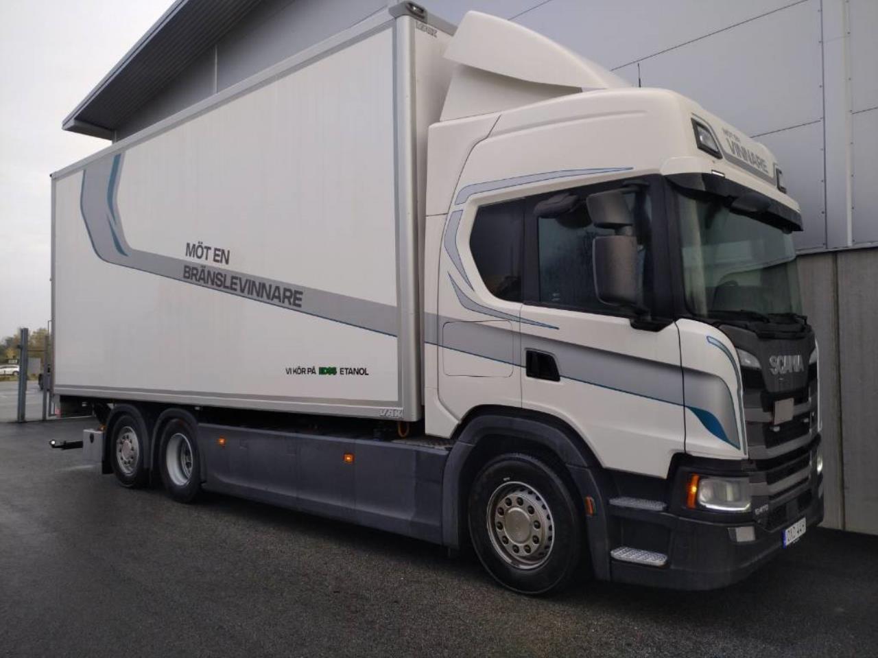 Scania G410 6X2*4 Etanol Euro 6 2019 - Skåp