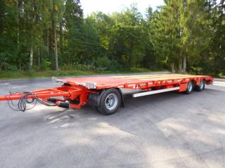 Goldhofer Maskinsläp/Bodsläp Omg leverans Tup-3L22/80
