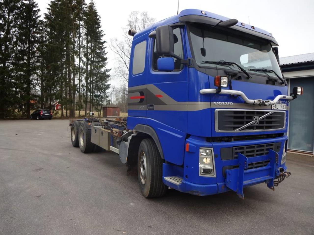 Volvo FH 500 6x2 2003 - Enbart chassi