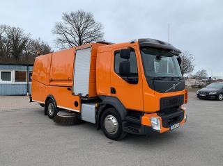 Volvo FL250 4x2 Sopmaskin Euro 6 Brodd