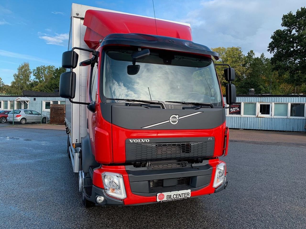 Volvo FL240 4x2 Kapell / Flakbil Z-Lift Ny Bil 2020 - Kapell