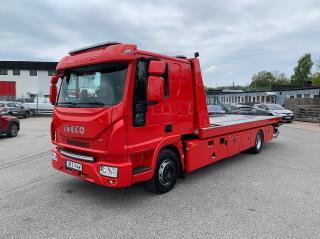 Iveco Eurocargo 120-220L Bärgningsbil Sovhytt