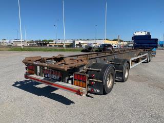 Kilafors SBLB4X-36-130 Lastväxlarvagn Nybesiktad