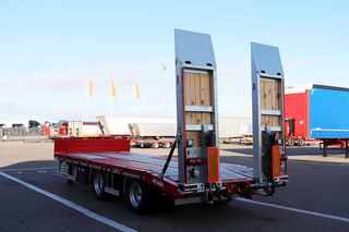 Kel-Berg 2-axlad maskinkârra 20 tons