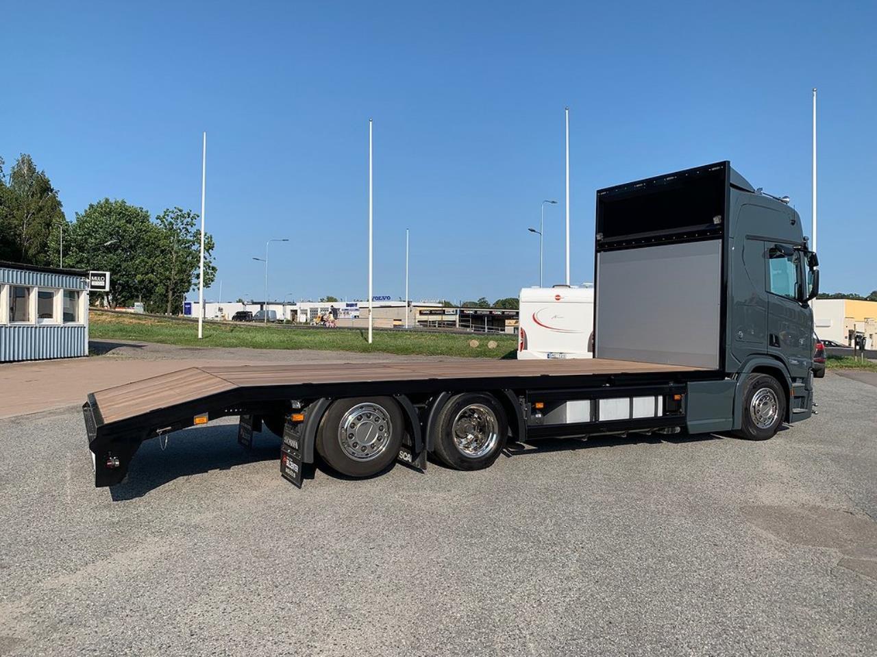 Scania R650 V8 6x2 Maskintransport  2018 - Maskintransport