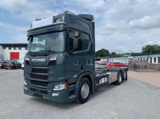 Scania R650 V8 6x2 Containerfäste LAGAB ADR
