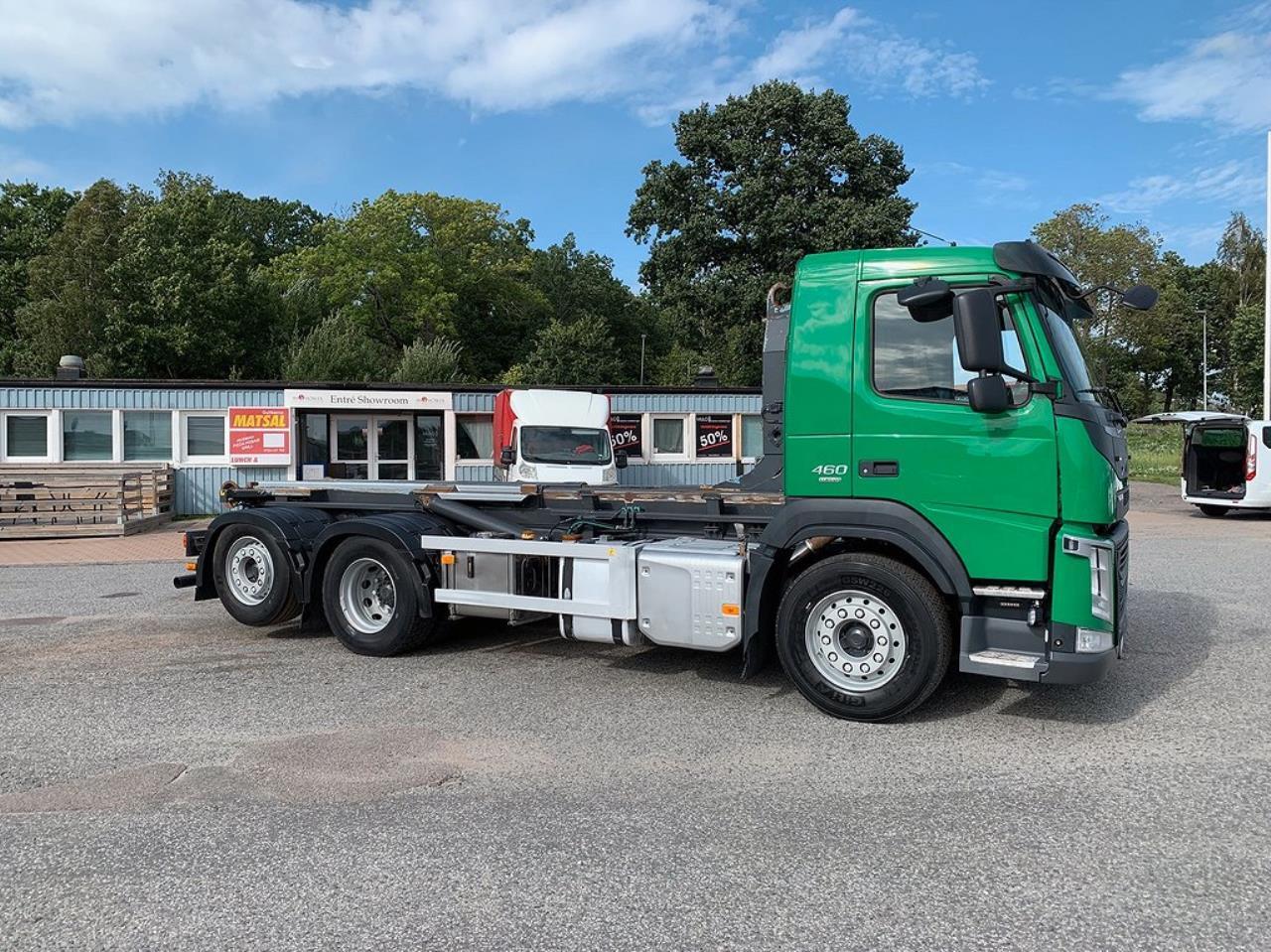 Volvo FM13 460 6x2*4 Lastväxlare Zetterbergs Euro 6 2015 - Krok/Lastväxlare