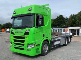 Scania R580 6x2 Containerbil / LAGAB