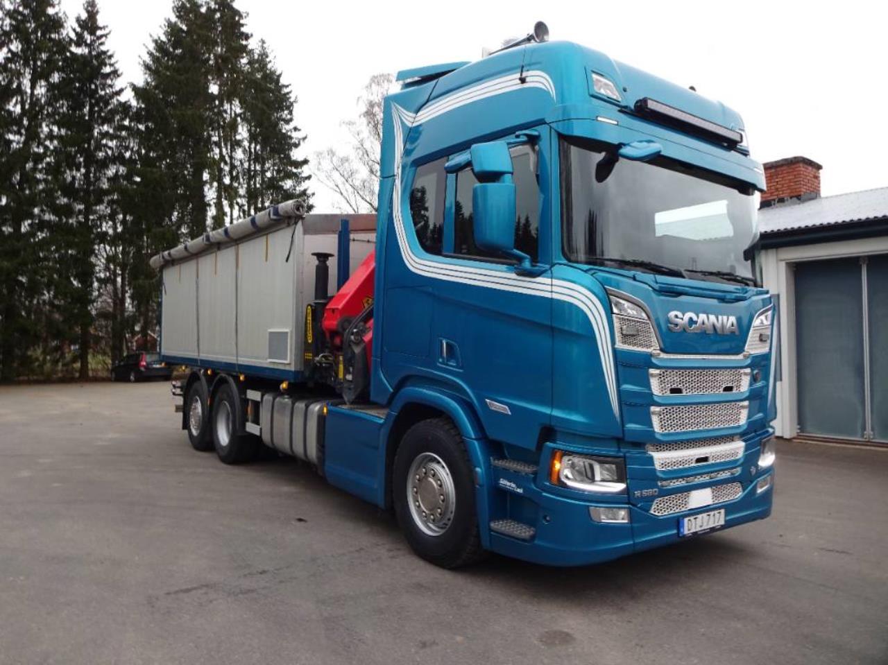 Scania Next Generation R580b6x2*4nb 2018 - Kran