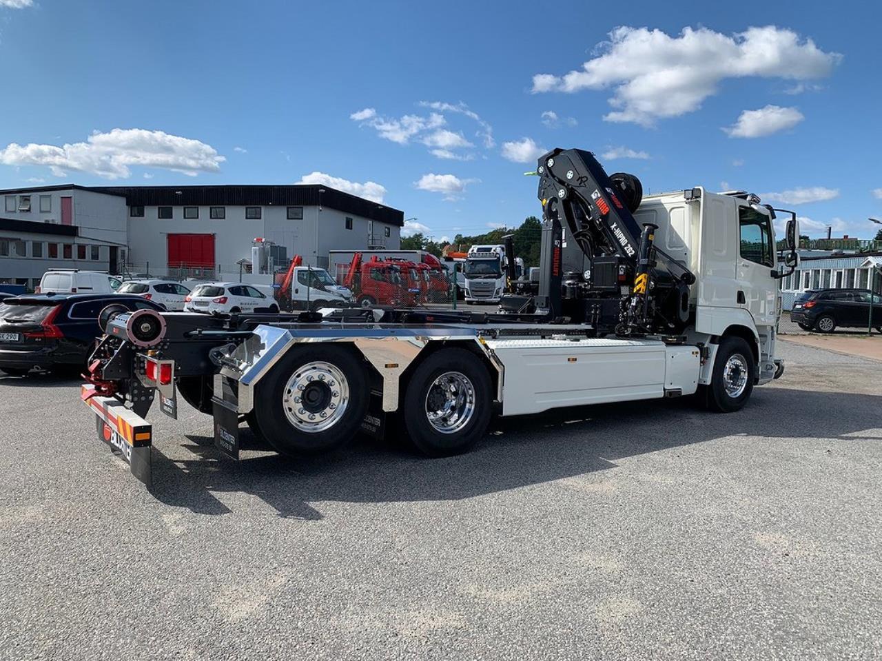 DAF CF 530 6x2*4 Kranväxlare Full Utrustad 2021 - Kran