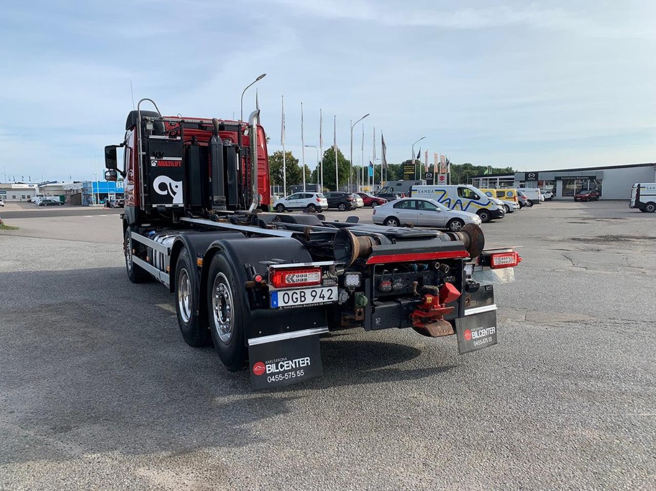 Volvo FM13 450 6x2*4 Lastväxlare Plogutrustad  2016 - Krok/Lastväxlare