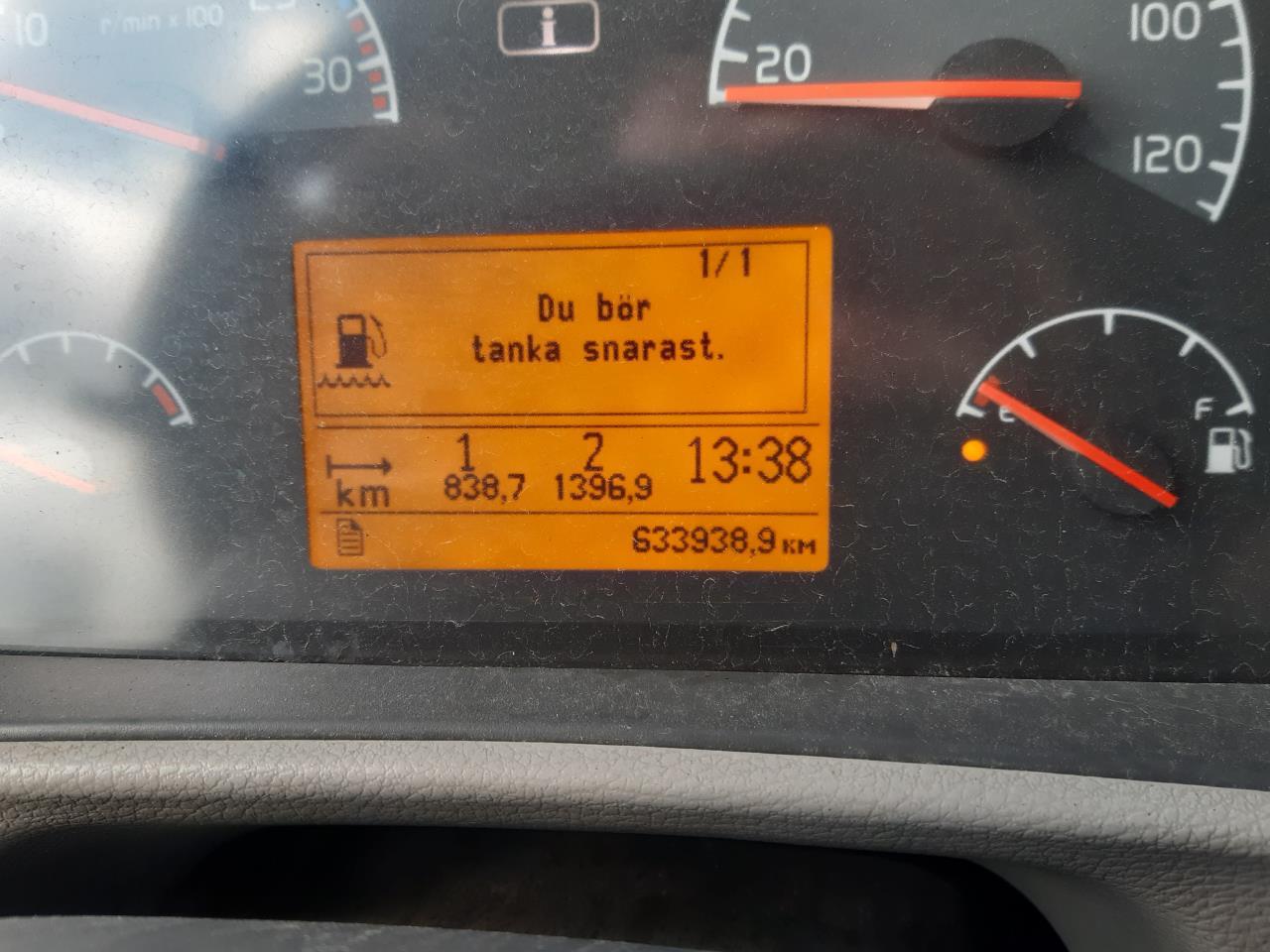 Volvo FLL 240 4X2  Flakbärgare 2007 - Bärgningsbil