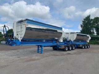 Övriga Parator 17-24 Special Asfaltstrailer & link 3 Axlade