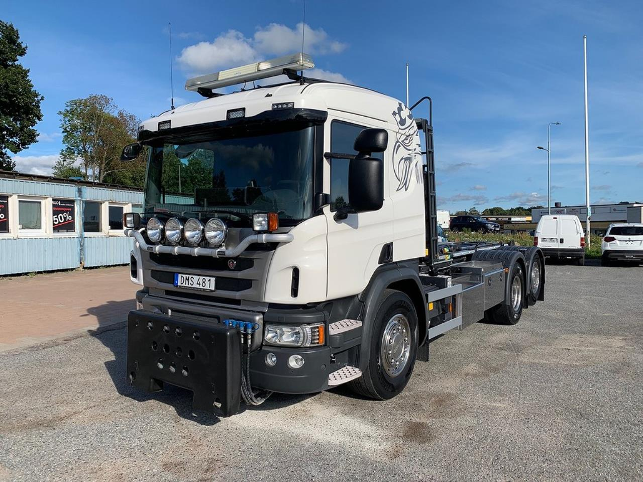 Scania P450 6x2*4 Lastväxlare Plogutrustad 2017 - Krok/Lastväxlare