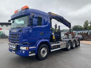 Scania G410 8x4*4 Kranväxlare Euro 6