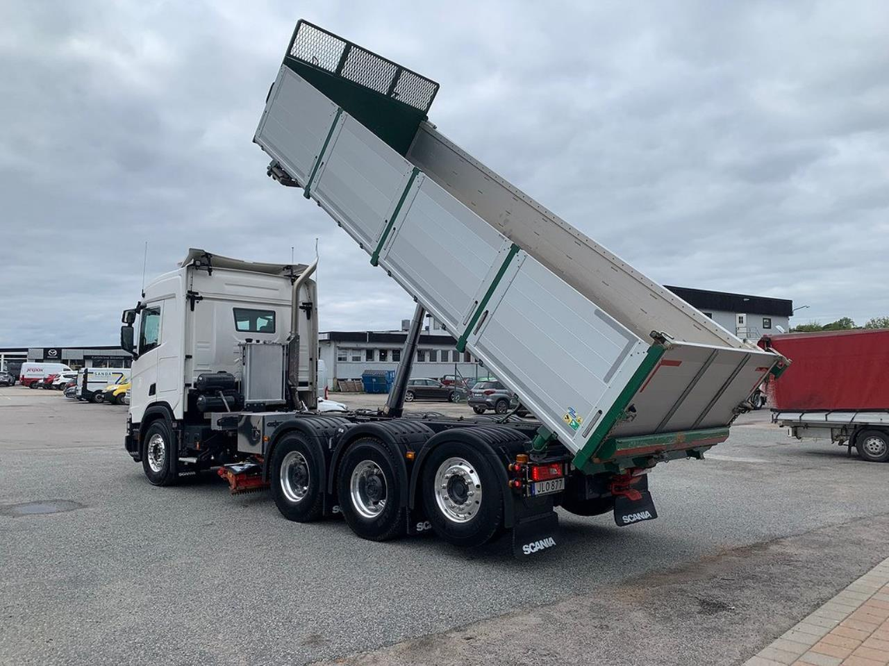 Scania R540 8x4*4 XT Tippbil Sidotipp Underbett  2020 - Tipp
