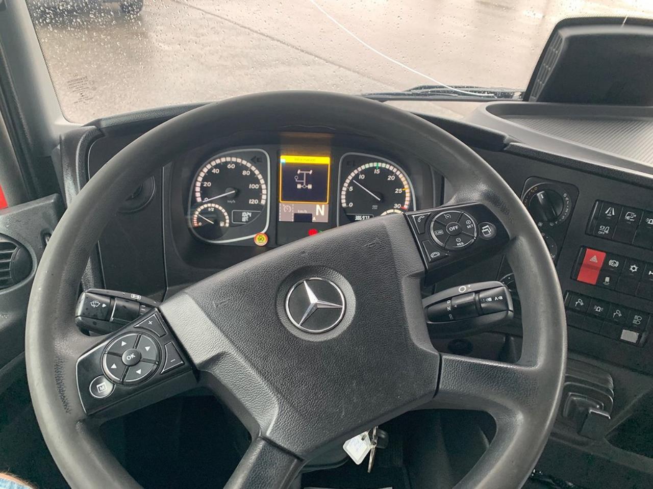 Mercedes-Benz Atego 918 4x2 Bärgningsbil  2017 - Bärgningsbil