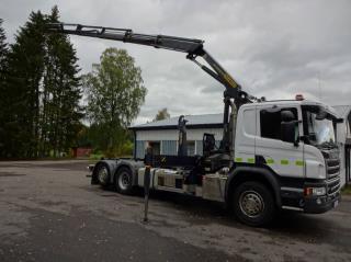 Scania Lastväxlare/Kran P410lb6x2*4hnb
