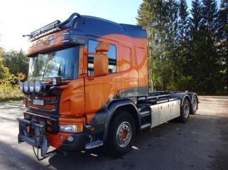 Scania Plogutrustad EURO6 P450lb6x2hsz